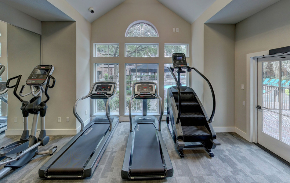 treadmill space at home