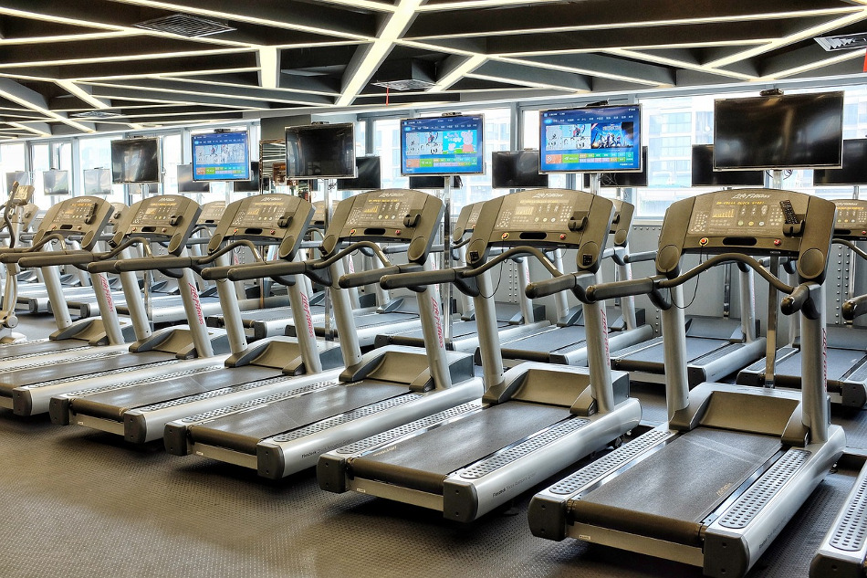treadmill space