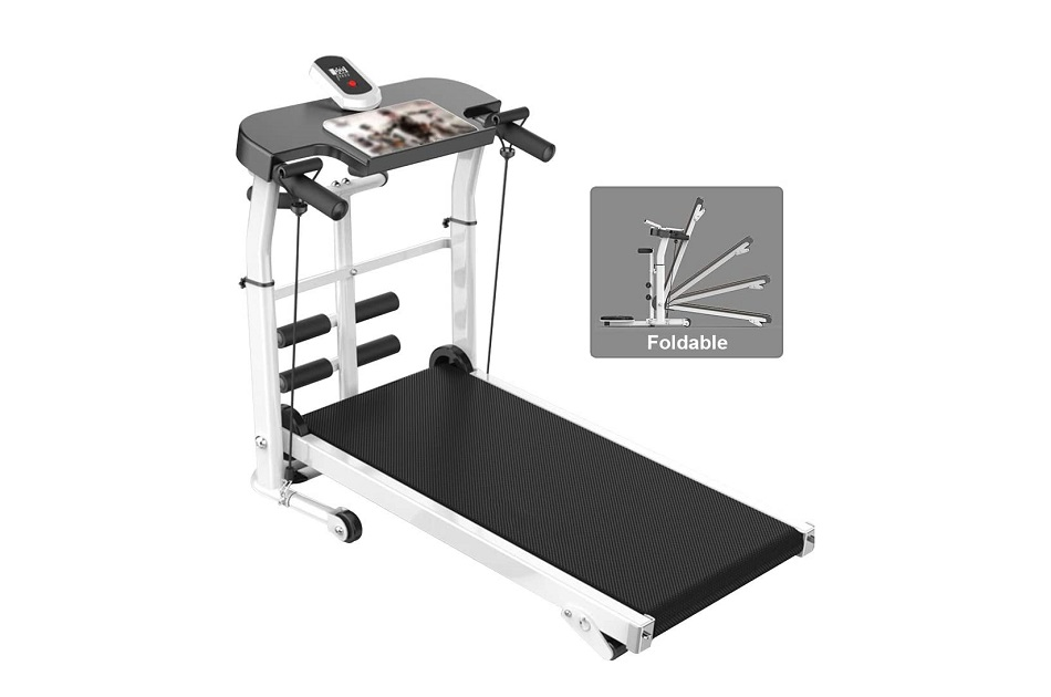 LZG Compact Folding Manual Treadmill