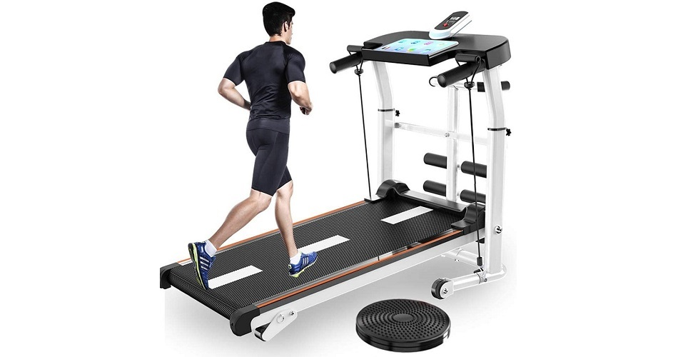 UAMSISTE US Mechanical Indoor Walking Treadmill