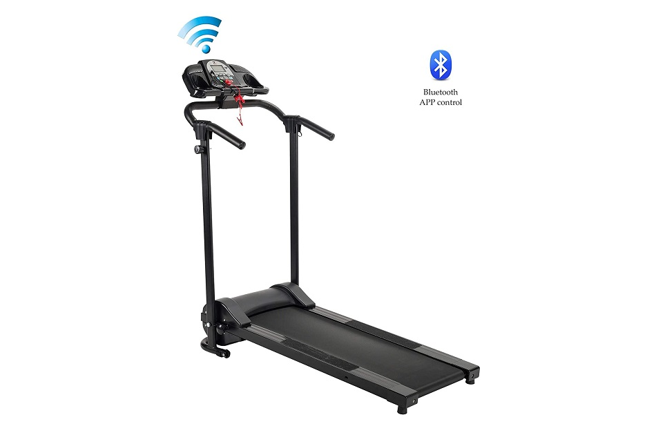 ZELUS 750W Electric Folding Treadmill