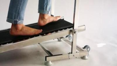 barefoot treadmill training