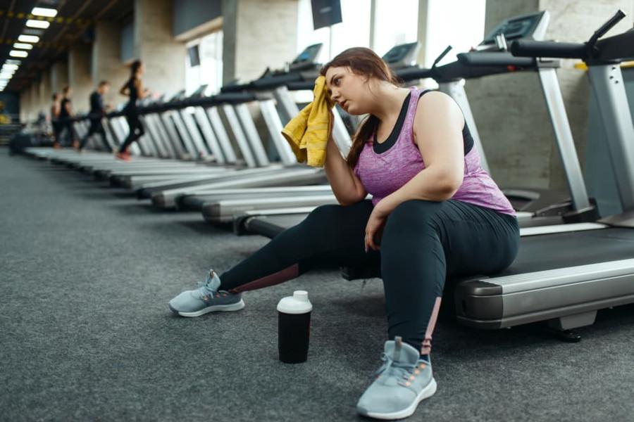 obese beginner treadmill
