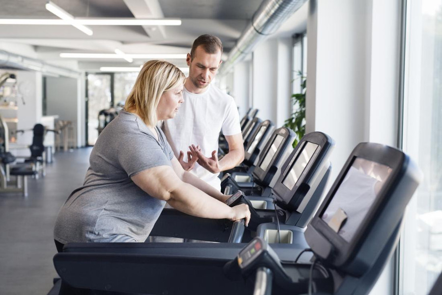 treadmill workouts for obese