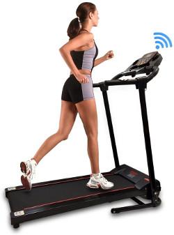 serenelife bluetooth treadmill