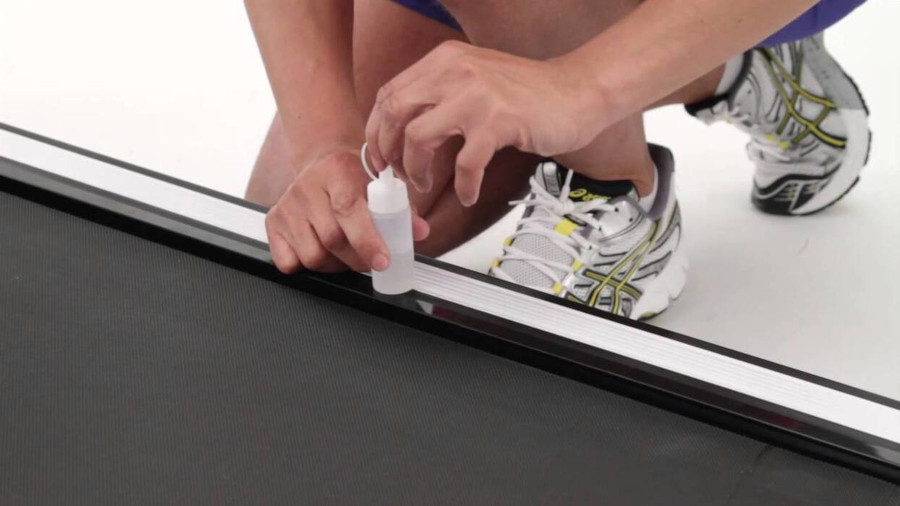Treadmill Maintenance Lubrication
