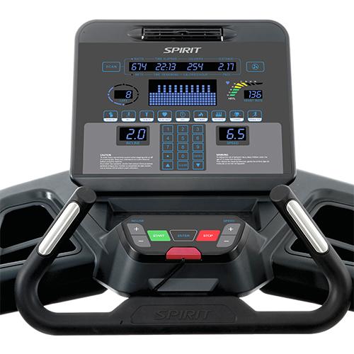 Treadmill-Buttons Explanation led sensors
